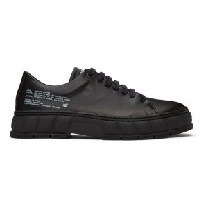 Viron Black Corn Leather 2005 Sneakers