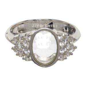 Jiye Shin Silver Topaz Mothers 2 Ring