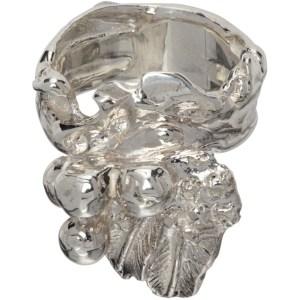 Jiye Shin Silver Rough 1 Ring