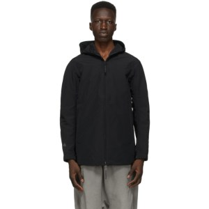 11 by Boris Bidjan Saberi Black Thermotaped Jacket