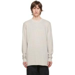 11 by Boris Bidjan Saberi Grey Dye T-Shirt
