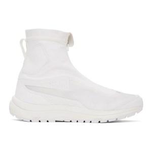 11 by Boris Bidjan Saberi White Salomon Edition Bamba 2 High Sneakers