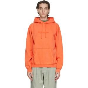 thisisneverthat Orange L-Logo Hoodie