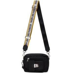 Won Hundred Black and Yellow Athen Light Bag