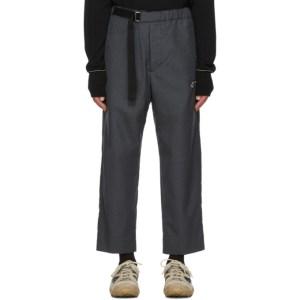 OAMC Grey Wool Regs Trousers