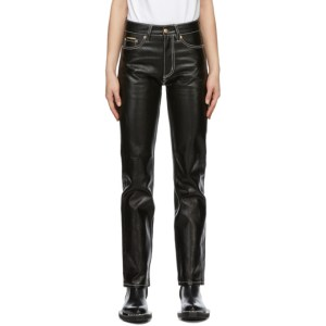 Eytys Black Coated Cypress Jeans