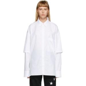Etudes White Iron Monogram Shirt