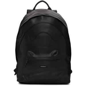 Rombaut Black Faux-Leather Boccaccio Future Backpack