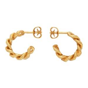 ELHANATI Gold Petite Norma Earrings