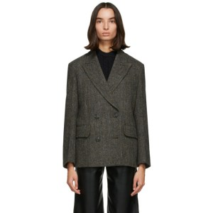 LOW CLASSIC Grey Wool Harris Tweed® Blazer