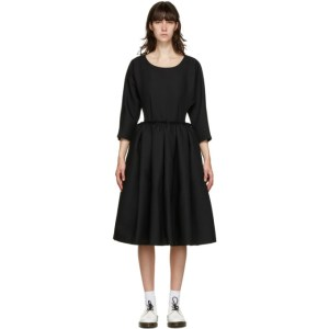 Comme des Garcons Comme des Garcons Black Side Cut-Out Dress