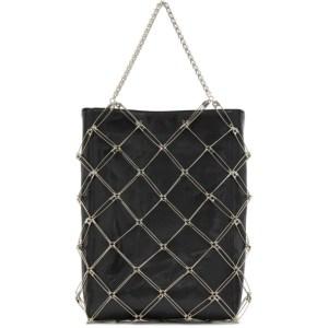 Noir Kei Ninomiya Black Safety Pin Tote Bag