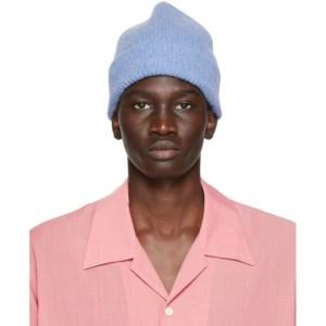 Harmony Blue Wool Wayne Beanie