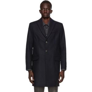 Harmony Navy Magnus Coat