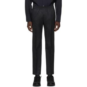Harmony Grey Wool Paolo Trousers