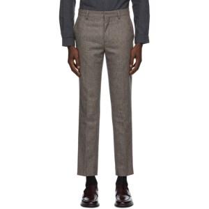 Harmony Brown Wool Peter Trousers