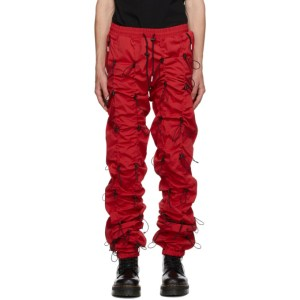 99% IS Red and Black Gobchang Lounge Pants