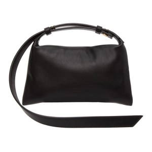 Simon Miller Black Mini Puffin Bag