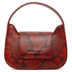 Simon Miller Red Snake Mini Retro Bag