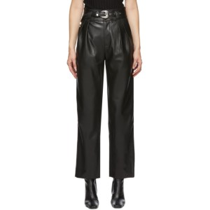 Simon Miller Black Barr Sack Waist Trousers