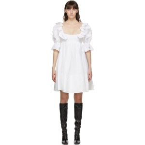 Brock Collection White Romana Dress