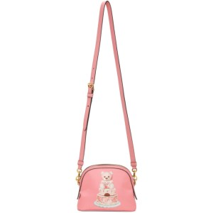 Moschino Pink Cake Teddy Bear Shoulder Bag