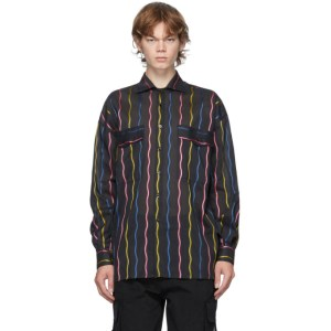 Moschino Black Stripe Fantasy Shirt