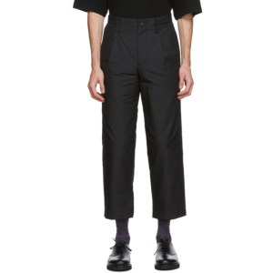Issey Miyake Men Black Insulated Memory Trousers