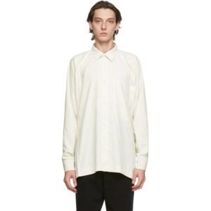 Issey Miyake Men Off-White Flat Shirt