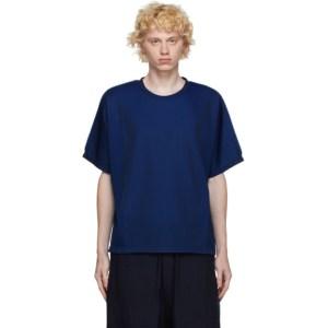 Issey Miyake Men Blue A-POC 24G T-Shirt