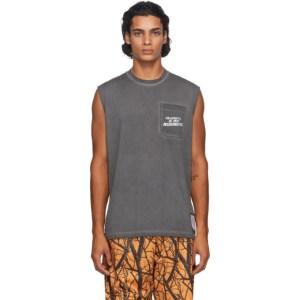 Satisfy Black Light 70s Muscle T-Shirt