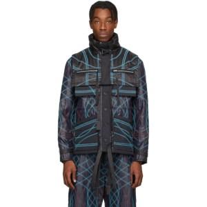 Craig Green Navy Embroidered Swirl Jacket