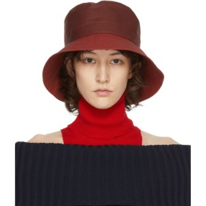 Sunnei Red Large Donna Bucket Hat
