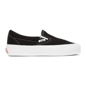 Vans Black OG Classic LX Slip-On Sneakers