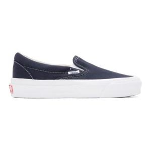 Vans Navy OG Classic Slip-On LX Sneakers