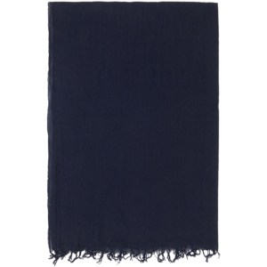 Blue Blue Japan Indigo Cotton Check Scarf