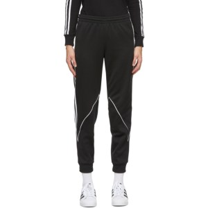 adidas Originals Black Big Trefoil Abstract Lounge Pants