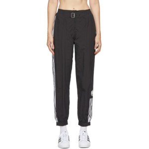 adidas Originals Black Paolina Russo Edition Striped Track Pants