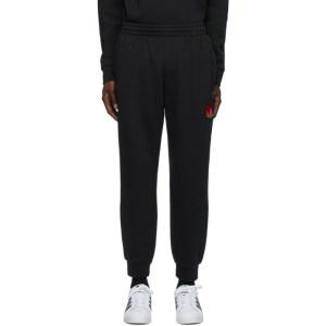 adidas Originals Black 3D Trefoil Lounge Pants