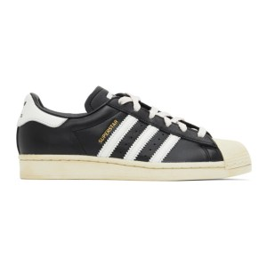 adidas Originals Black Superstar Sneakers