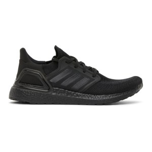 adidas Originals Black Ultraboost 20 Sneakers