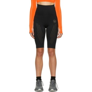 adidas by Stella McCartney Black Pure Performance Cycling Shorts