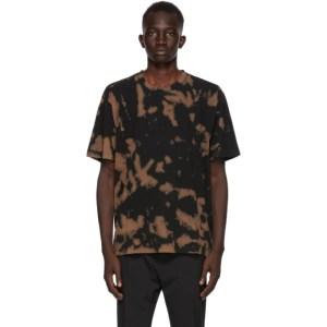 CMMN SWDN Black and Brown Bleach Ridley T-Shirt
