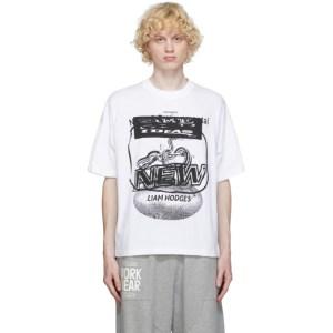 Liam Hodges White Classic Print T-Shirt