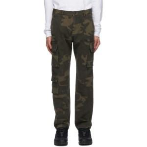John Elliott Brown Utility Cargo Pants