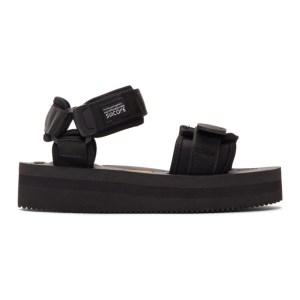 Suicoke Black CEL-VPO Sandals