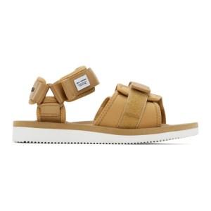 Suicoke Brown maharishi Edition Kuno Flat Sandals