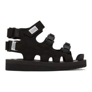 Suicoke Black Boak-V High Top Sandals
