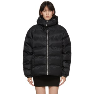 1017 ALYX 9SM Black Buckle Puffer Jacket