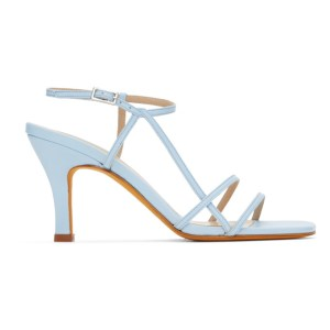 Maryam Nassir Zadeh Blue Irene Sandals